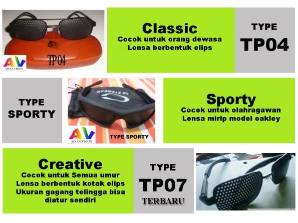 Katalog Kacamata Terapi TP47sporty